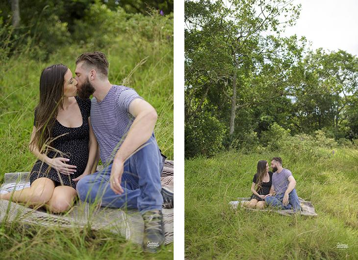 Ensaio gravidez